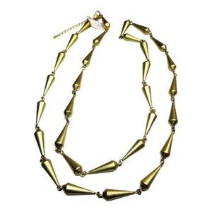 Lia Sophia Rumor Cone Shaped Stations Necklace